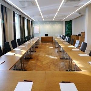 Konferensrummet Widholm med plats för upp till 60 personer