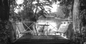 Herrgård vid vatten